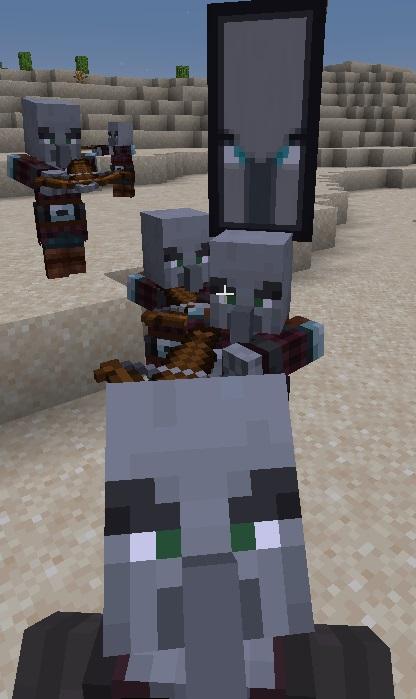 Разбойники Minecraft