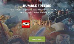 LEGO The Hobbit бесплатно на Humble Bundle.