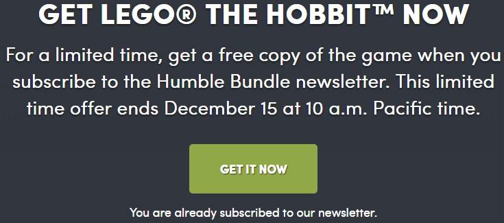 lego hobbit hamble time