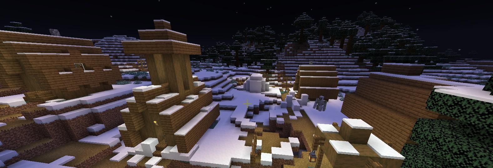 derevnya v snegnom biome