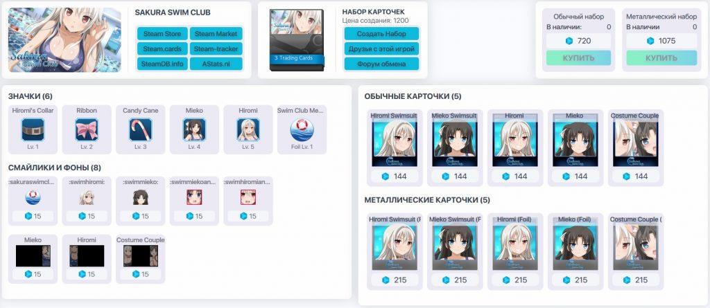 info po igre SAKURA SWIM CLUB