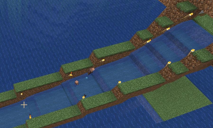 ferma zhiteley - vodniy spusk