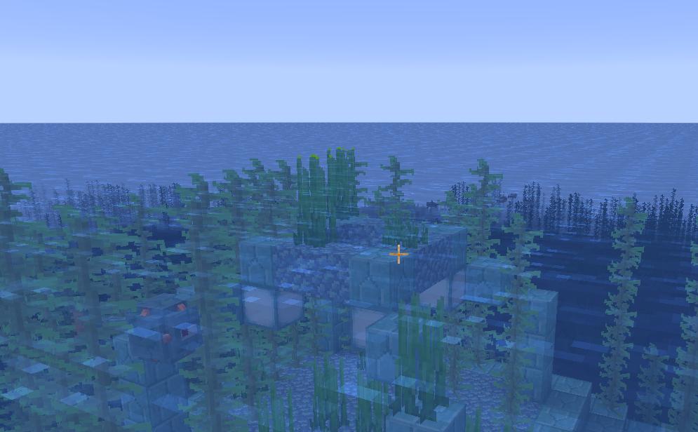 Самая верхняя точка подводной крепости